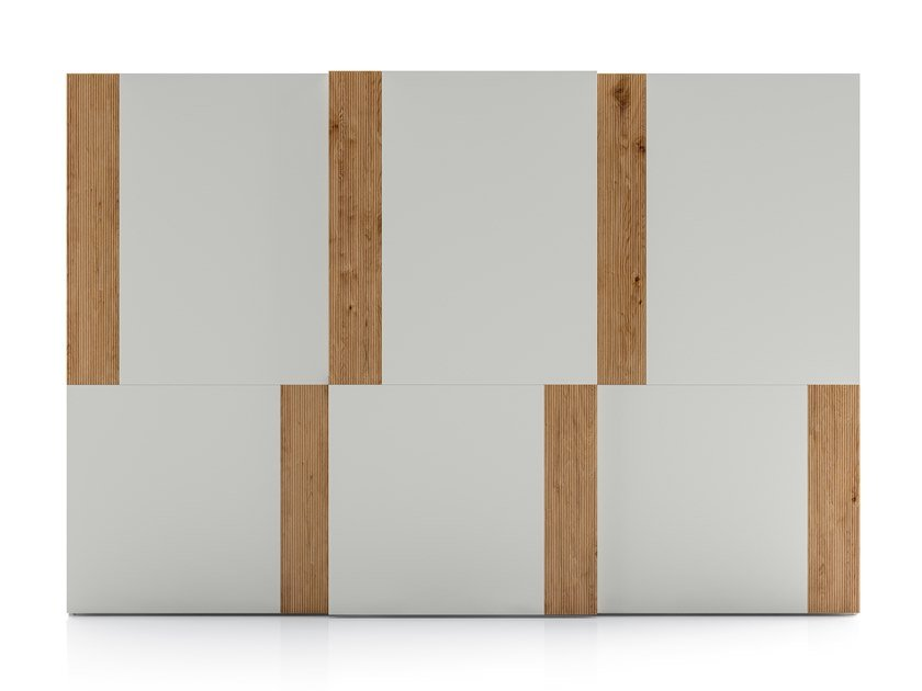 Lacquered wardrobe with sliding doors EMOTION UP EM34 by Dall'Agnese