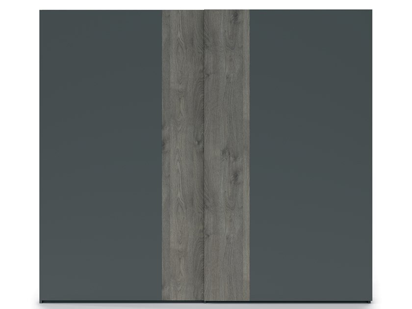 Lacquered wardrobe with sliding doors EMOTION UP EM38 by Dall'Agnese