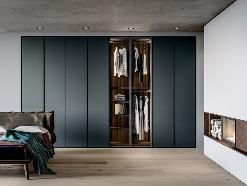 Lacquered wardrobe EMOTION UP EM01 by Dall'Agnese
