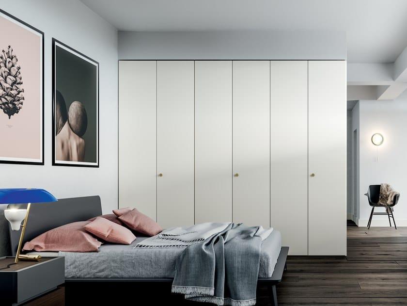 Melamine-faced chipboard wardrobe EMOTION UP EM17 by Dall'Agnese