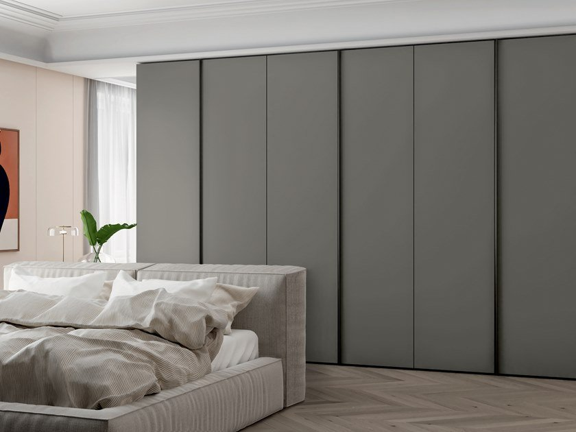Melamine-faced chipboard wardrobe EMOTION UP EM19 by Dall'Agnese