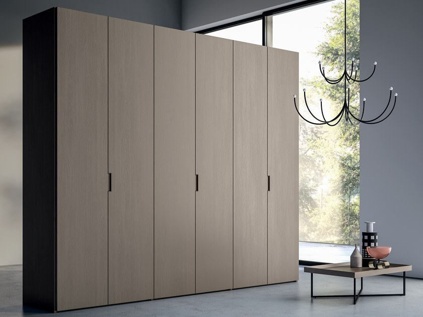 Melamine-faced chipboard wardrobe EMOTION UP EM21 by Dall'Agnese