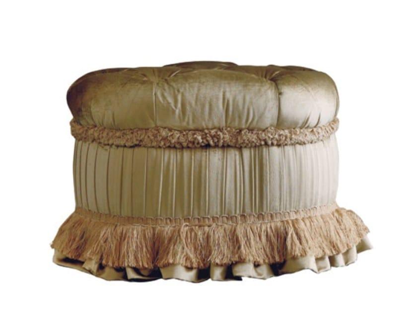 Rectangular fabric pouf EMOZIONI | PF001 by Martini Interiors