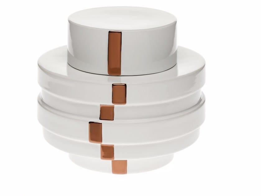 Ceramic storage box EMPIRE BOX by Byfly