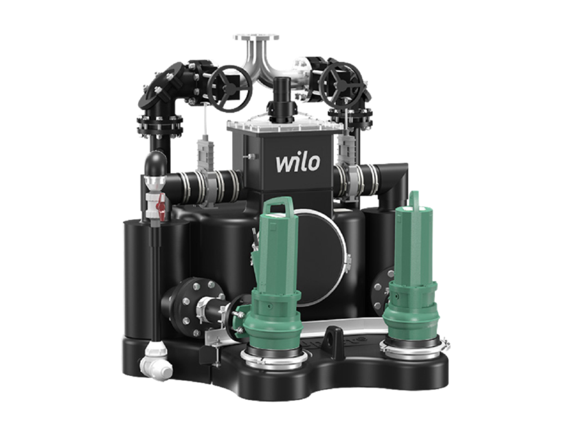 Component for sewer network EMU PORT CORE by WILO Italia