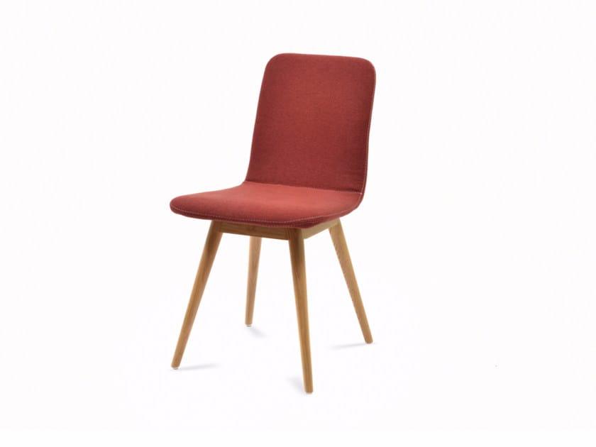 Fabric chair ENA CHAIR by Gazzda