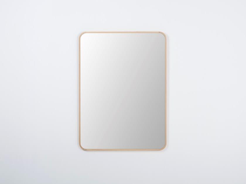 Specchio da parete con cornice ENA | Specchio rettangolare by Gazzda