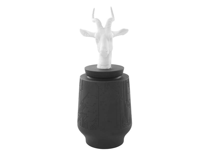 Porcelain storage box ENDANGERED - GAZELLE by Vista Alegre