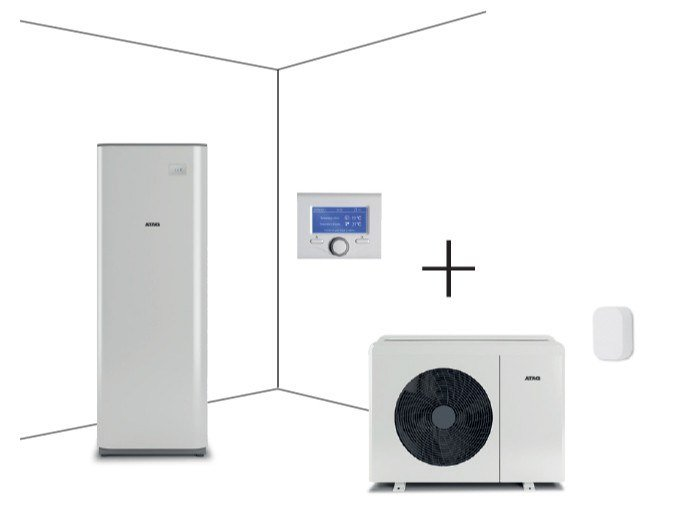 Air to water heat pump ENERGION M Compact by ATAG Italia