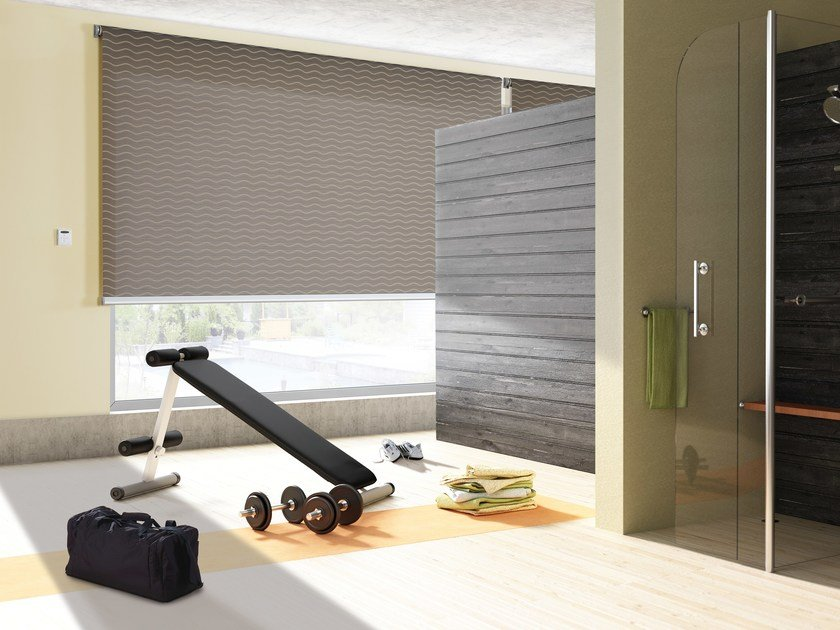 Electric aluminium roller blind ENERGY 450 by Mottura