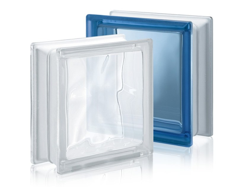 Glass Block with Low Thermal Transmittance ENERGY SAVING by Seves glassblock