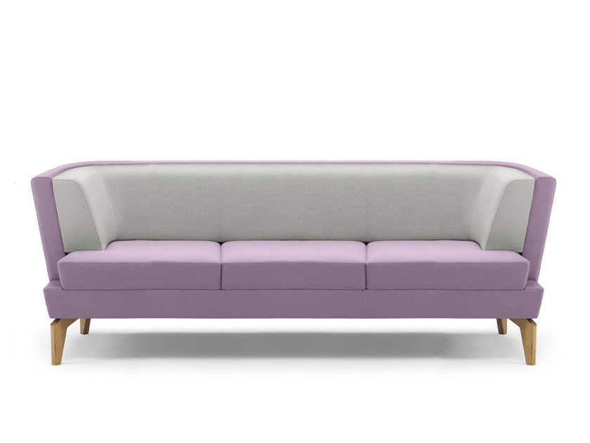 Upholstered 3 seater sofa ENTENTE   3 seater sofa by Boss Design
