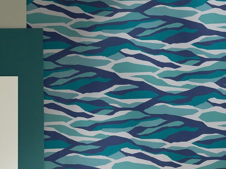 Motif wallpaper ENTRELACS by Ressource
