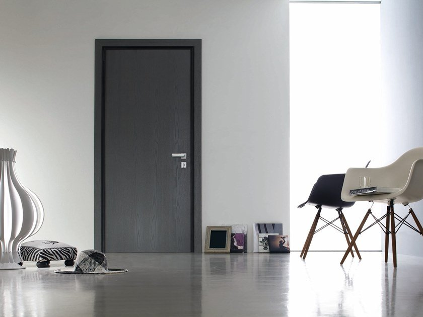 Safety door with concealed hinges TEKNO | Entry door by OIKOS VENEZIA
