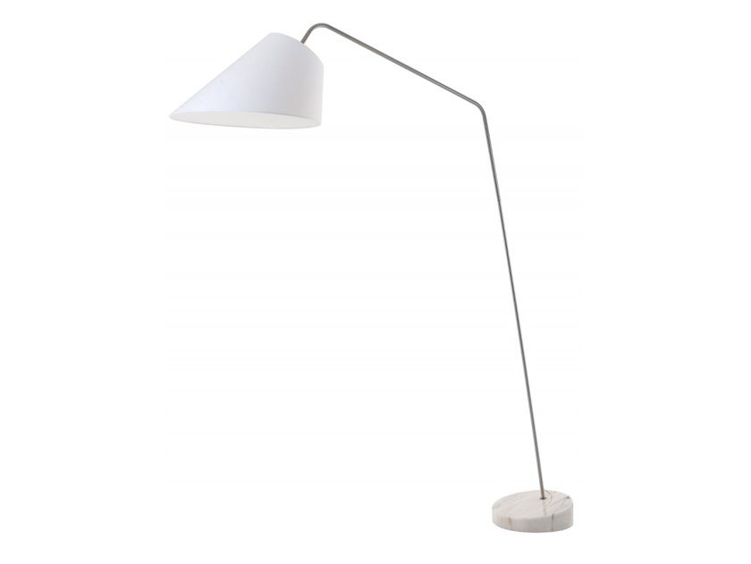 Marble floor lamp ENZO by Flam & Luce