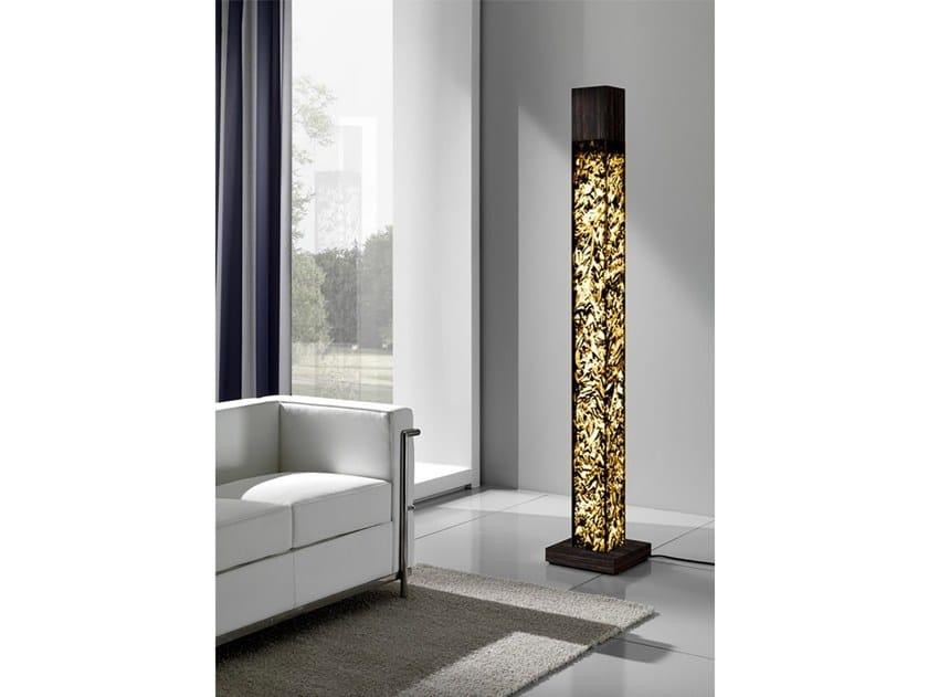 Crystal Stone® floor lamp EOS AUREO | Floor lamp by Crystal Stone