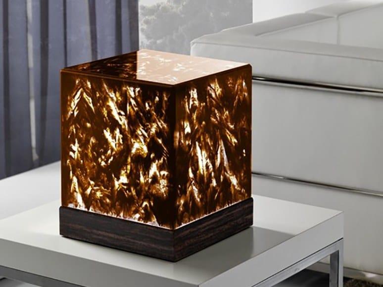 Crystal Stone® table lamp EOS AUREO | Table lamp by Crystal Stone