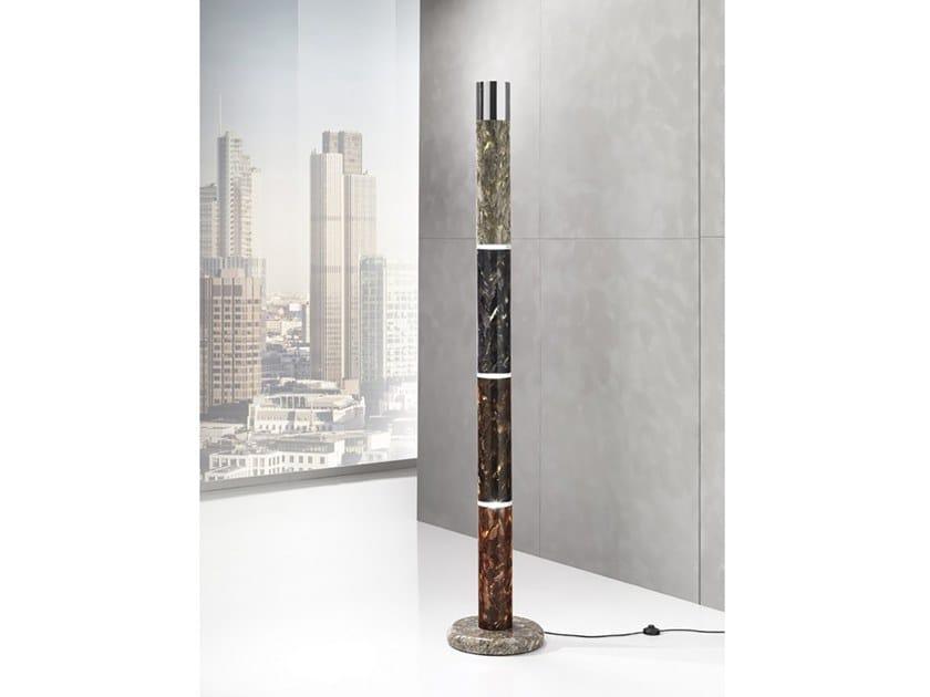 Crystal Stone® floor lamp EOS | Floor lamp by Crystal Stone