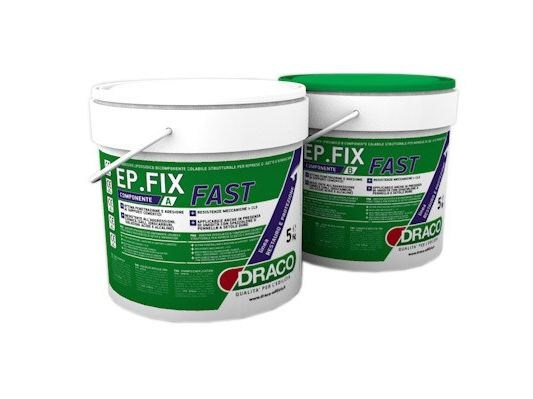 Structural adhesive EP FIX FAST by DRACO ITALIANA