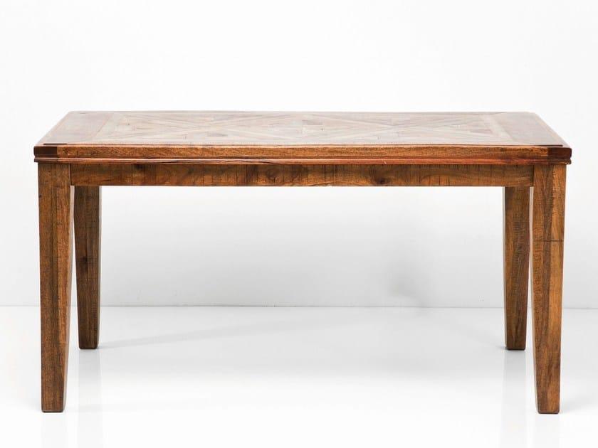 Rectangular wooden table EPOCA COLOR by KARE-DESIGN