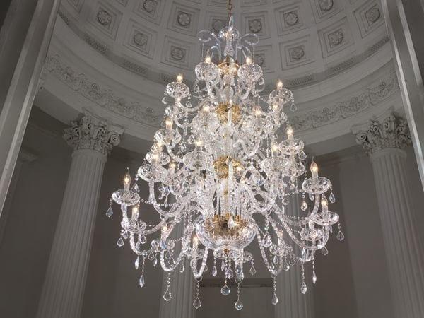 10 Con 8 Lampadario Collezione Swarovski® Epoca Cristalli L12 IEH2D9