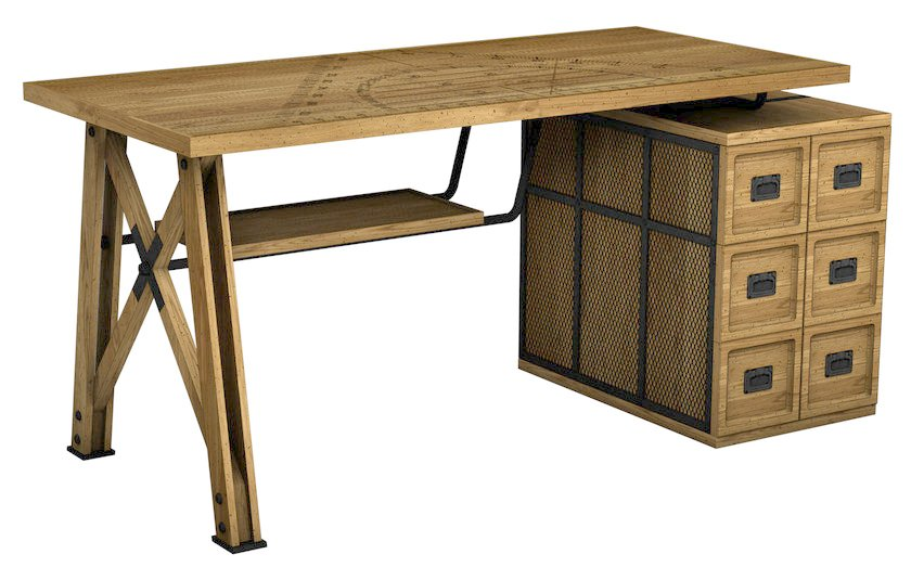 Wooden secretary desk EPURE by ROCHE BOBOIS