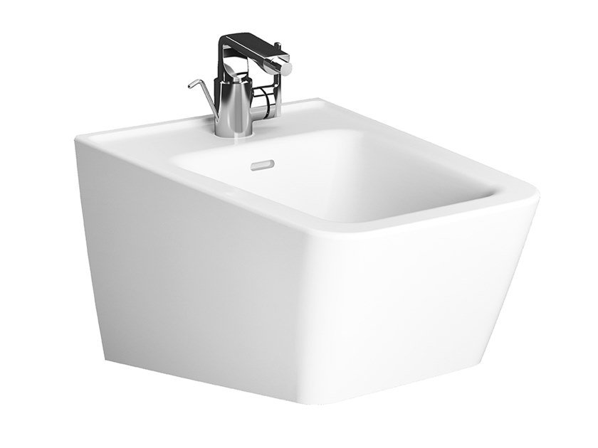 Bidet sospeso in ceramica con troppopieno EQUAL | Bidet by VitrA Bathrooms