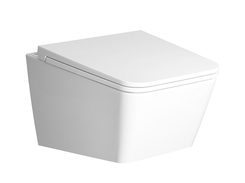 Wc sospeso in ceramica EQUAL | Wc by VitrA Bathrooms