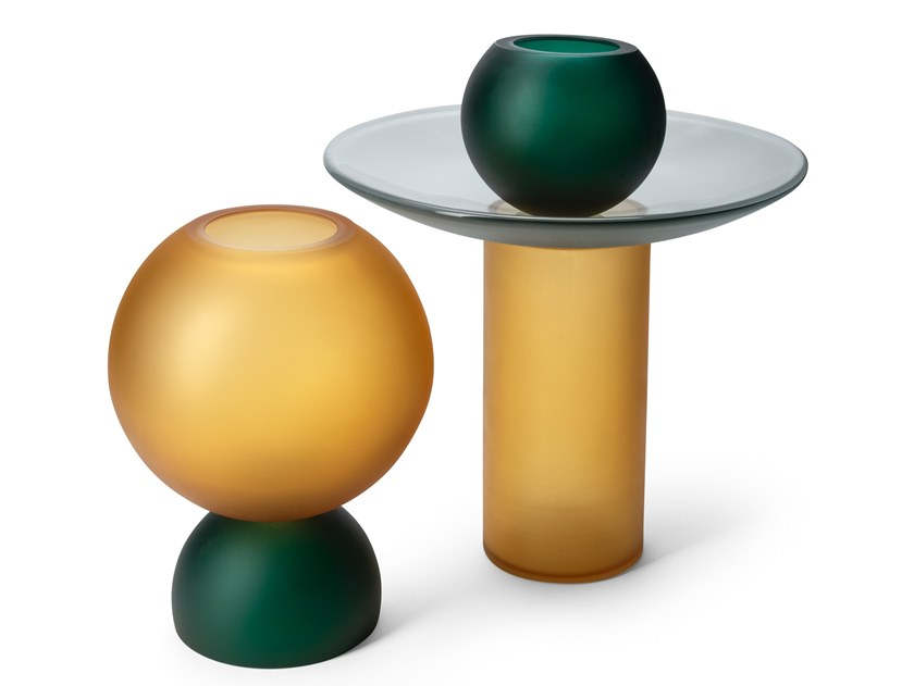 Murano glass vase EQUILIBRI | Vase by Visionnaire
