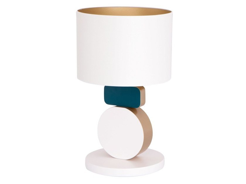Wooden table lamp EQUILIBRIUM by Flam & Luce