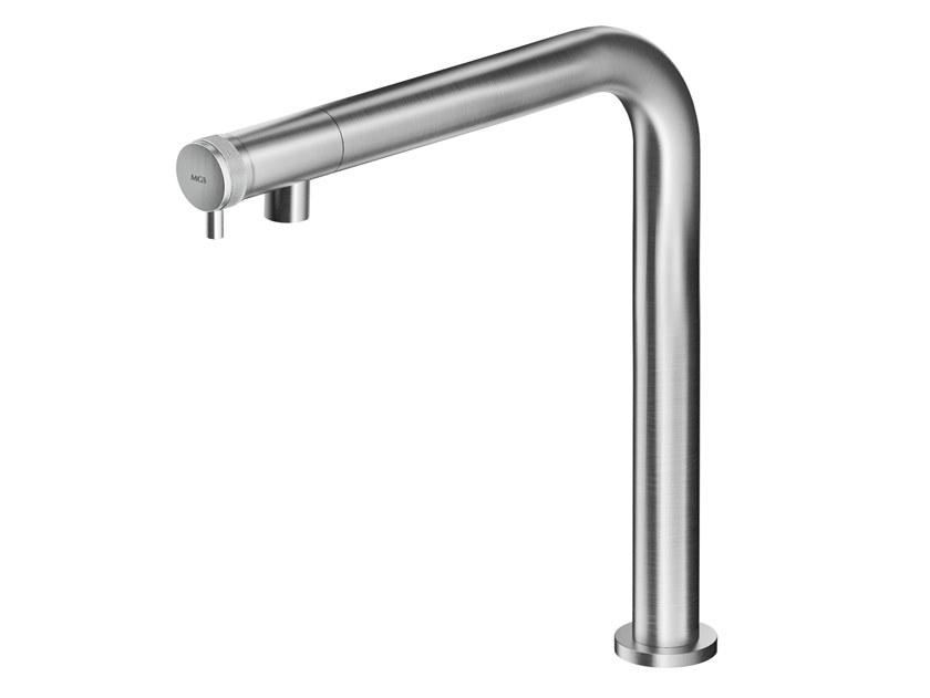 Countertop stainless steel washbasin mixer ER238 | Washbasin mixer by MGS