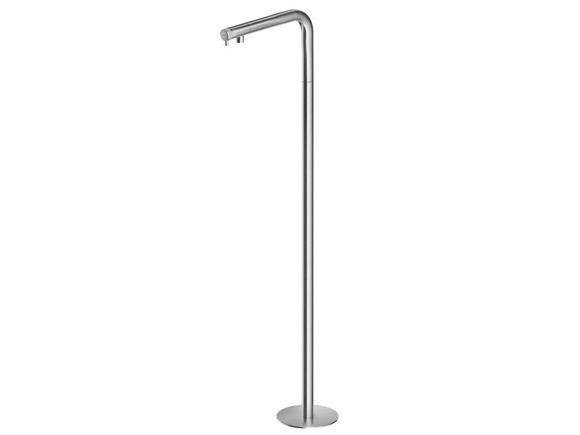 Floor standing stainless steel washbasin mixer ER247 | Washbasin mixer by MGS