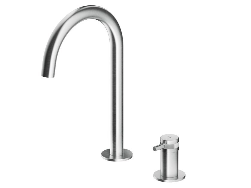 Countertop stainless steel washbasin mixer ER262 | Washbasin mixer by MGS