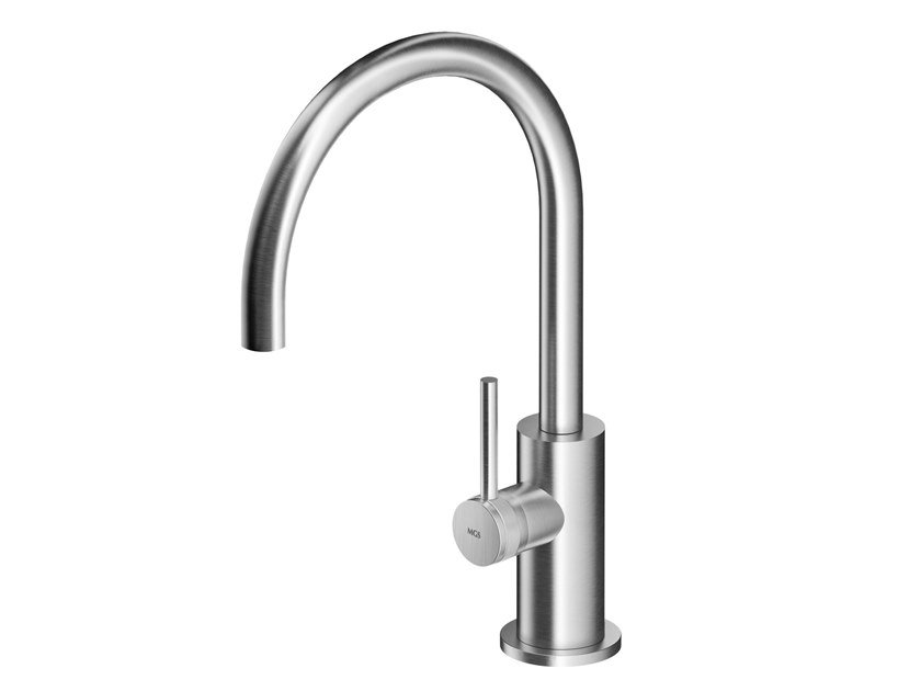 Countertop stainless steel washbasin mixer ER264   Washbasin mixer by MGS