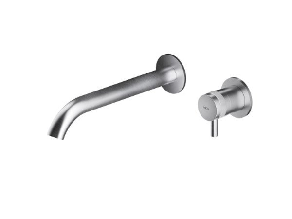 2 hole wall-mounted stainless steel washbasin mixer ER291 | Washbasin mixer by MGS