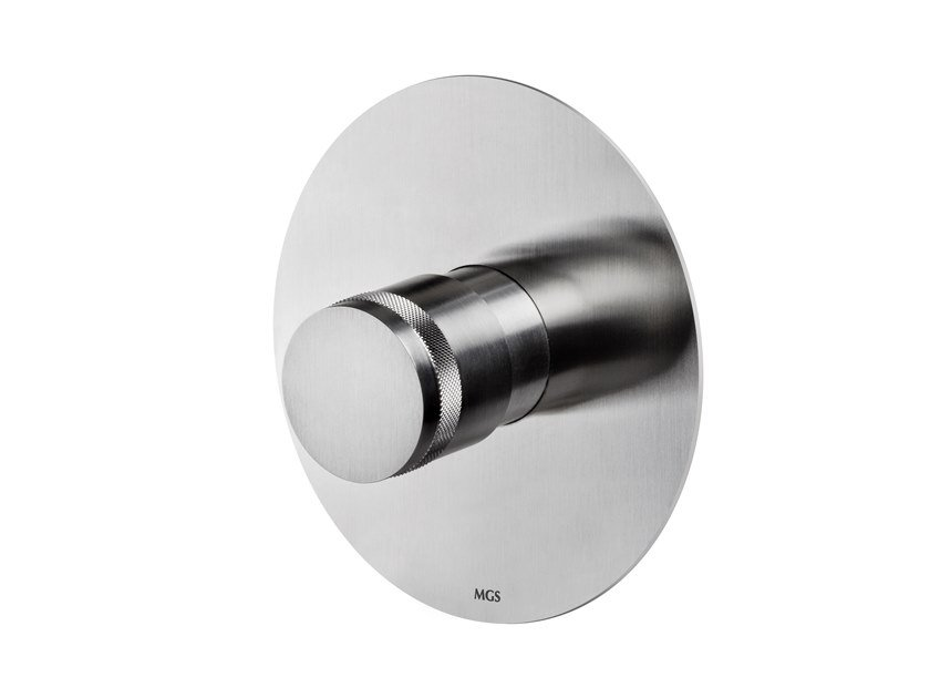 Wall-mounted stainless steel remote control tap ER444 | Remote control tap by MGS