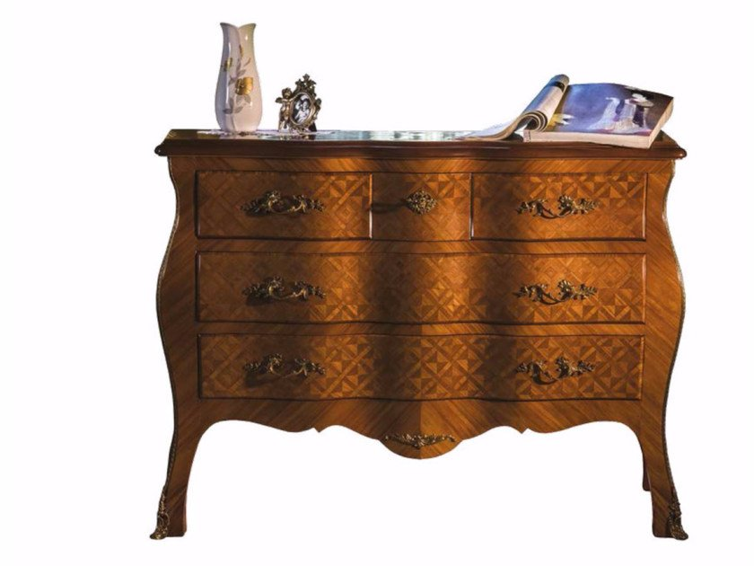Wooden chest of drawers ERA by HEBANON