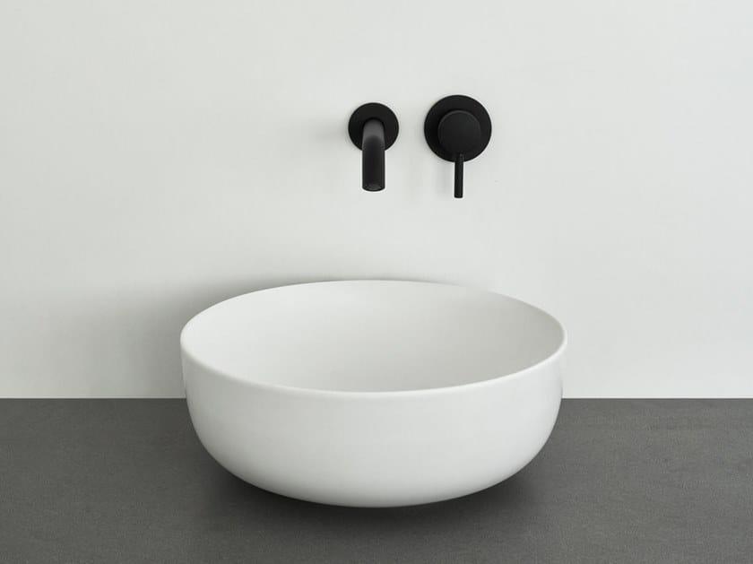 Countertop round ceramic washbasin ERA SMALL by Ceramica Cielo