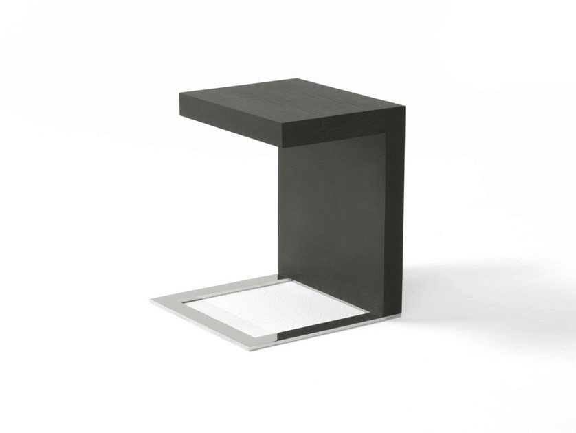 Wooden side table ERCOLE SERVER by Frigerio Salotti