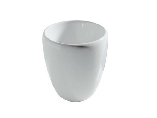 Vasque à poser en céramique ERGO - 40 CM by GALASSIA