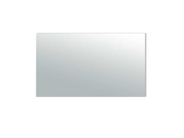 Rectangular wall-mounted bathroom mirror MEG11  - 80x40 cm by GALASSIA