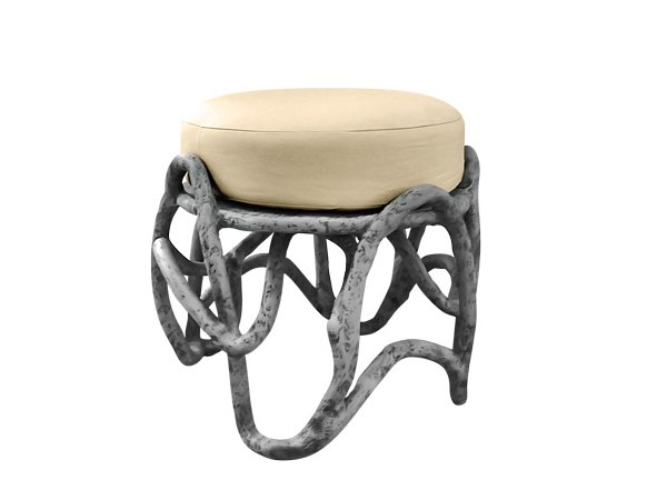 Upholstered stool EROS K3004 by KARPA