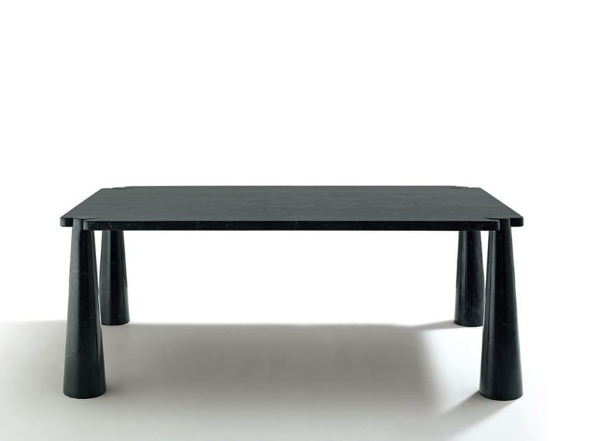 Rectangular marble table EROS | Rectangular table by Agapecasa