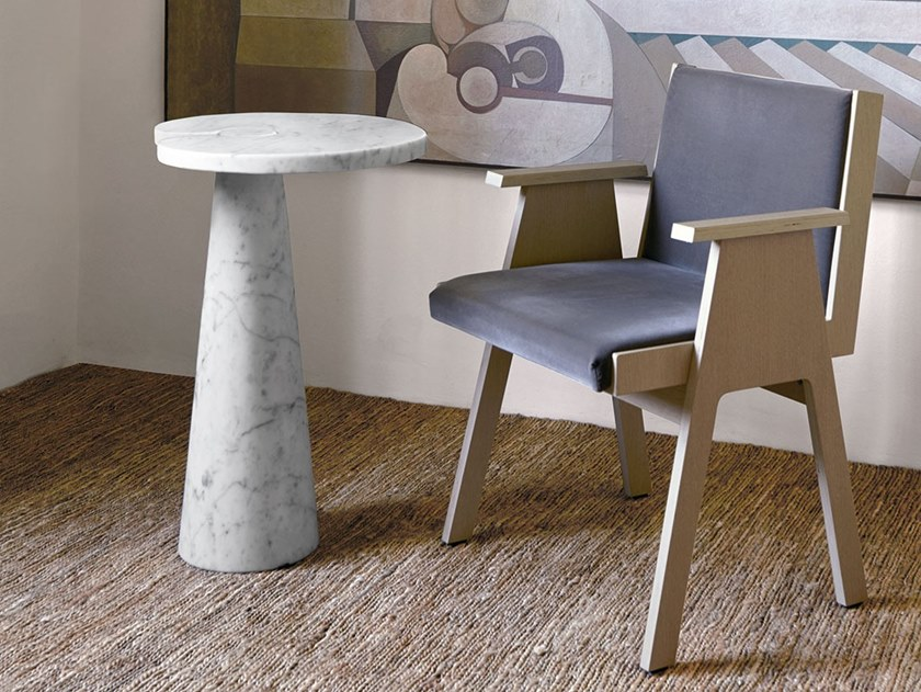 Round marble table EROS | Table by Agapecasa