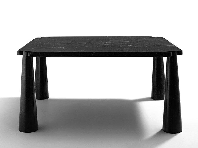 Square marble table EROS | Square table by Agapecasa
