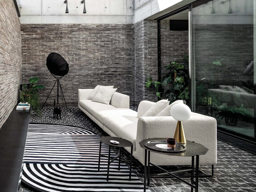 4 seater fabric sofa ÈS   4 seater sofa by Twils Lounge