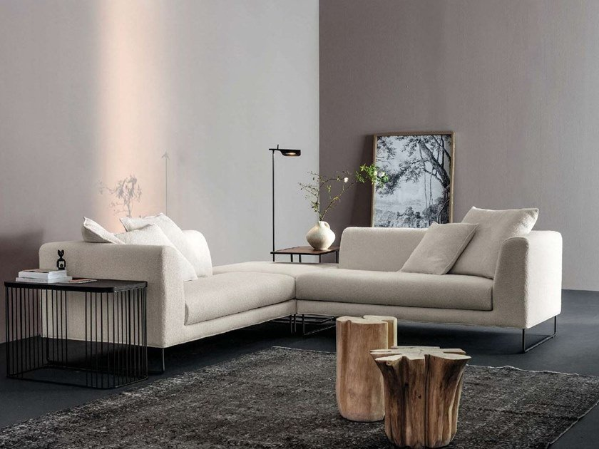 Corner fabric sofa ÈS | Corner sofa by Twils Lounge