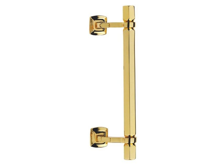Brass pull handle ESAGONALE FASHION by Pasini