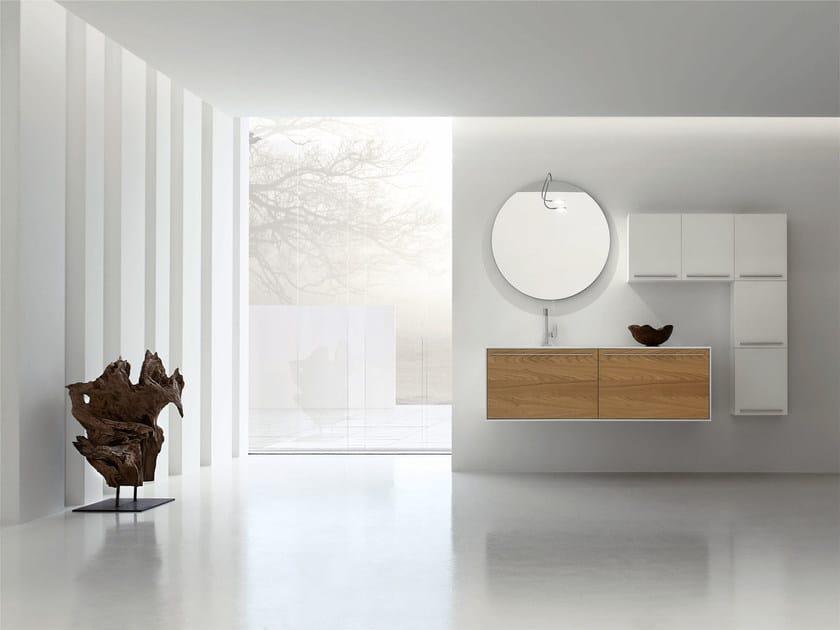Sistema bagno componibile ESCAPE - COMPOSIZIONE 15 by Arcom