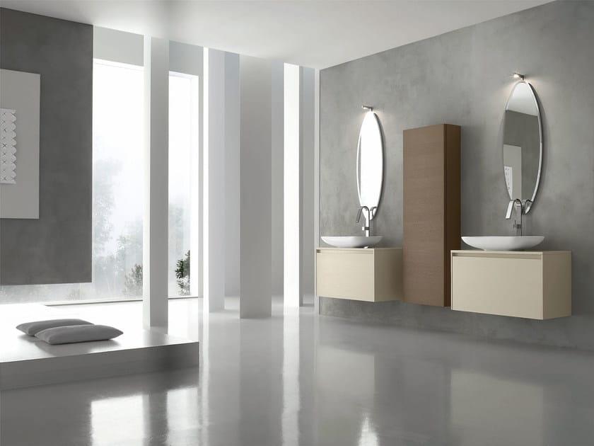 Sistema bagno componibile ESCAPE - COMPOSIZIONE 17 by Arcom